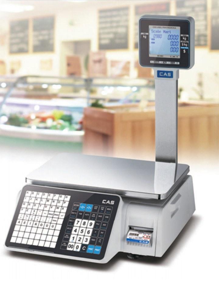 0df8dc12b2 Market-Cân điện tử in nhãn CAS CL-3000 P 30Kg/10g cân siêu thị điện tử Cân siêu thị