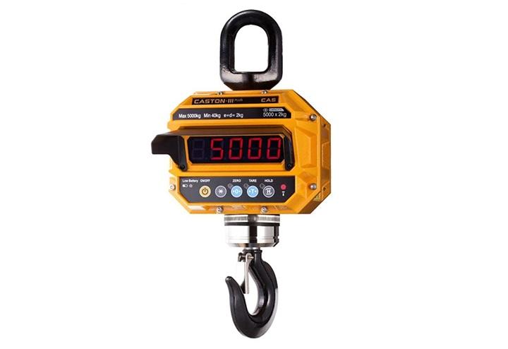 0ea9d45f34 Crane scale-Cân treo điện tử móc không xoay CAS THD-BT 50 Tấn/10Kg cân điện tử Cân treo điện tử
