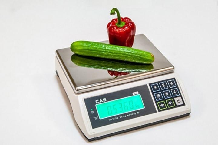 430e200757 Basic scale-Cân bàn điện tử CAS ED 3Kg cân điện tử Cân thông dụng