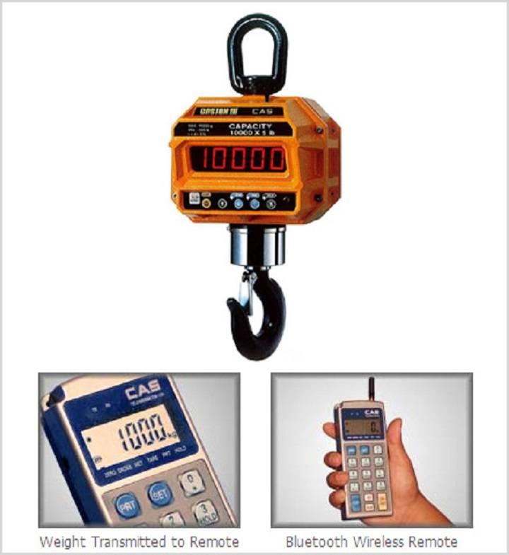 4aba574487 Crane scale-Cân treo điện tử CAS THD-BT 2 Tấn/1Kg cân điện tử Cân treo điện tử