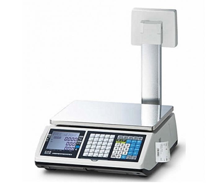 5592753c36 Market-Cân điện tử in hóa đơn CAS CT-100P 3Kg/1g cân siêu thị điện tử Cân siêu thị