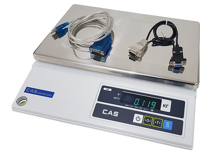 62f15d8b04 Basic scale-Cân điện tử bàn CAS AD 30Kg cân điện tử Cân thông dụng