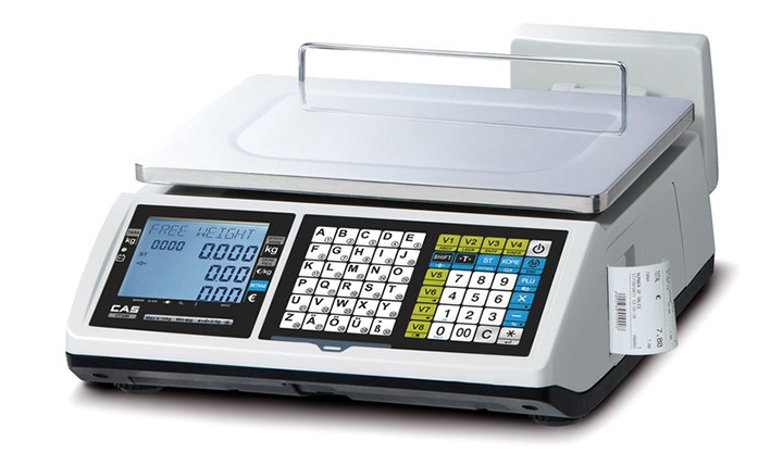 79f955335a Market-Cân điện tử in hóa đơn CAS CT-100B 30Kg/10g cân siêu thị điện tử Cân siêu thị