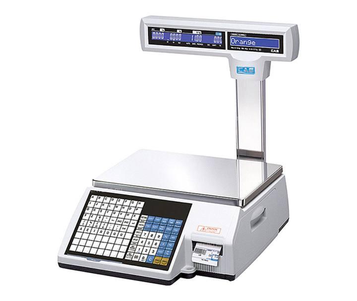 8fb8ab950a Market-Cân điện tử in nhãn CAS CL-5000 P 30Kg/10g cân siêu thị điện tử Cân siêu thị