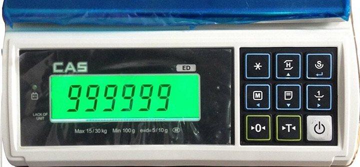 b7af95a687 Basic scale-Cân bàn điện tử CAS ED 30Kg cân điện tử Cân thông dụng
