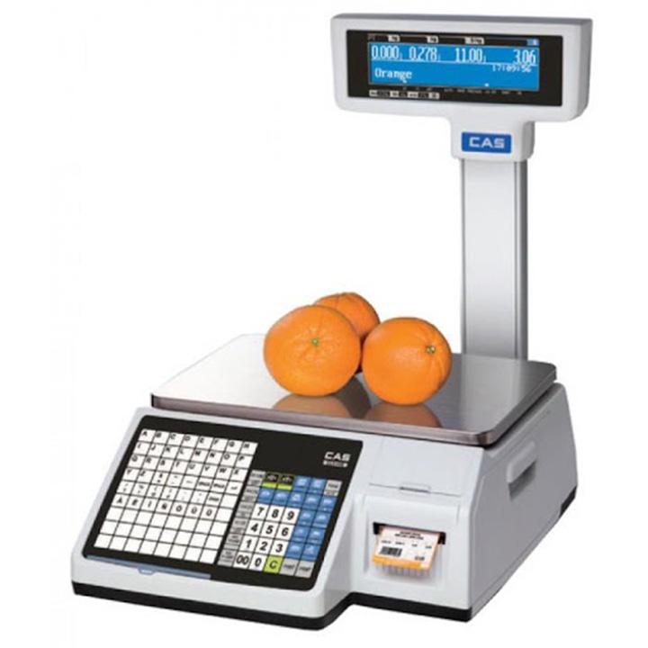 c4c12068a1 Market-Cân điện tử in nhãn CAS CL-5200 P 15Kg/5g cân siêu thị điện tử Cân siêu thị
