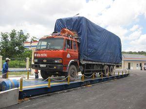 ce88c48451 Digital truck scales-Trạm cân xe tải sàn nổi 40, 60, 80 tấn Cân xe tải điện tử