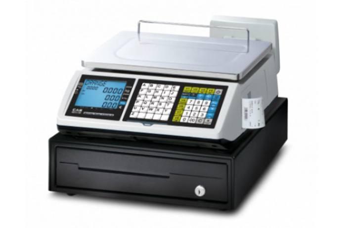 d8d296c04b Market-Cân điện tử in hóa đơn CAS CT-100B 15Kg/5g cân siêu thị điện tử Cân siêu thị